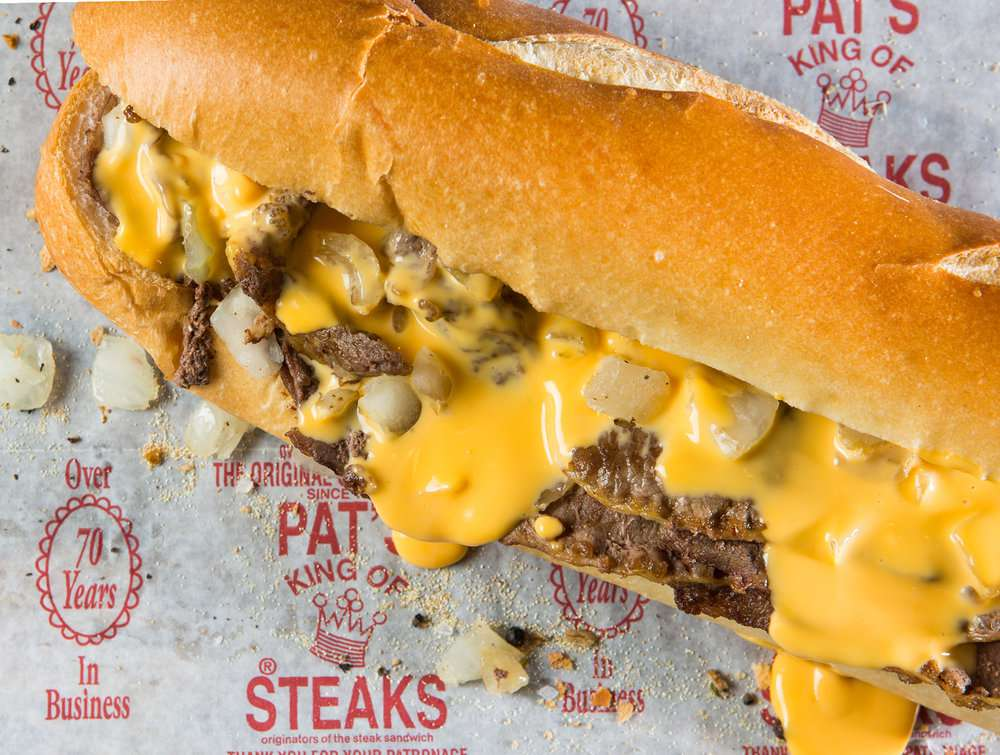 cheesesteak Filadelfia