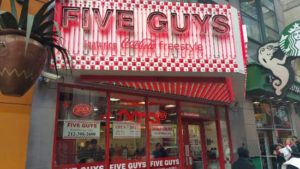 Five Guys Miami